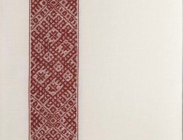 LIELVARDE double stripe red tea towel