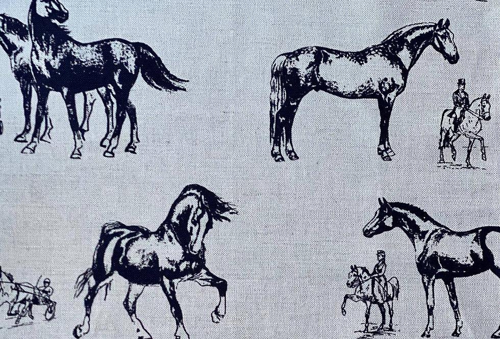 Black Horses tea towels
