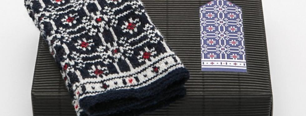 MIDSUMMER STAR  - Mitten Knitting Kit