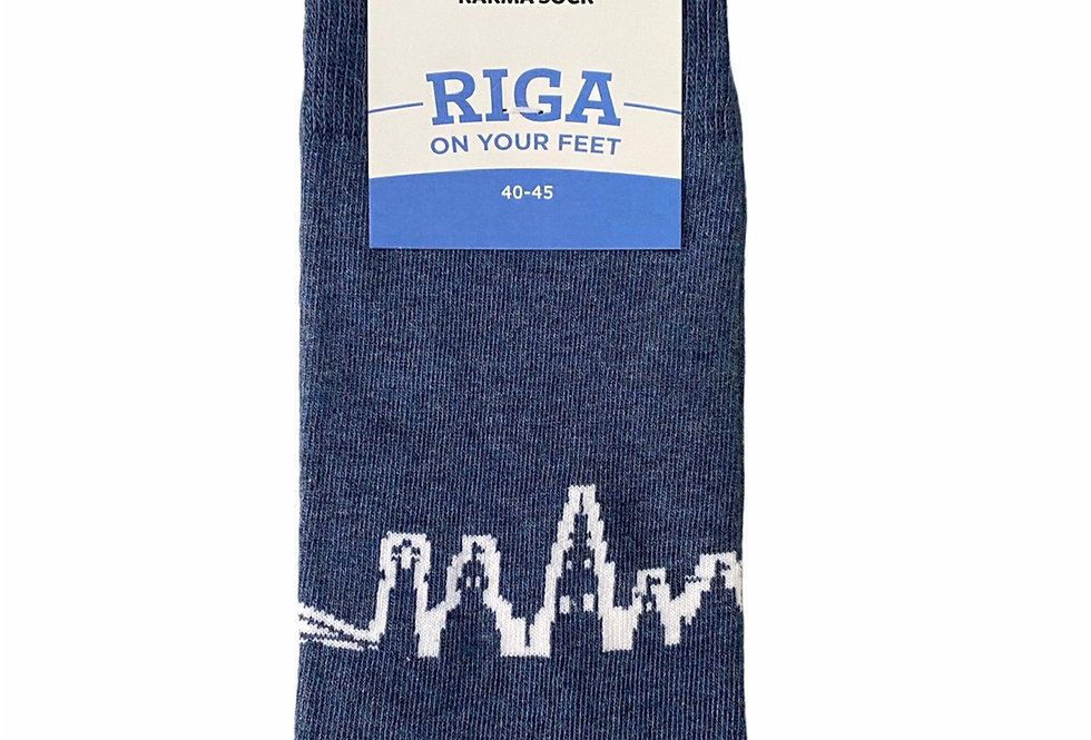 RIGA Denim Socks