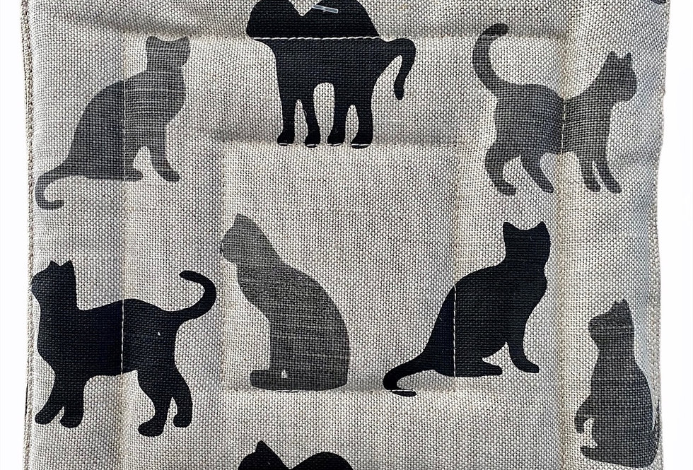Shadow Cats Pot Holder