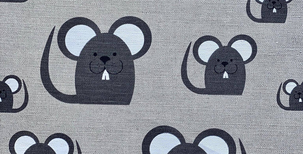 Black Mice tea towel