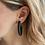 Thumbnail: LARGE TWISTED HOOP Earrings