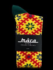 MARA SOCKS - Yellow Fields