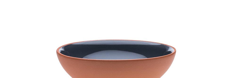 grey ceramic bowl; vaidava