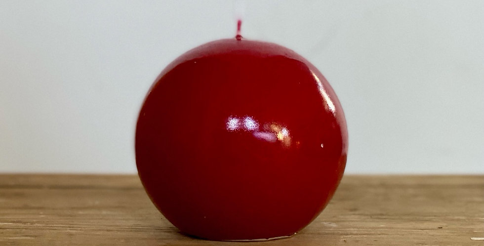 Toffee Apple Candles