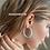 Thumbnail: TWISTED HOOP Earrings