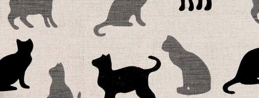 Shadow Cats Tea Towel