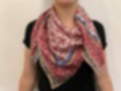 Silk scarves with Baltic deign