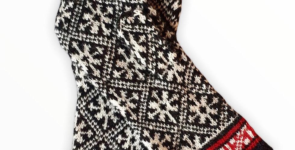 Woollen Mittens Style C