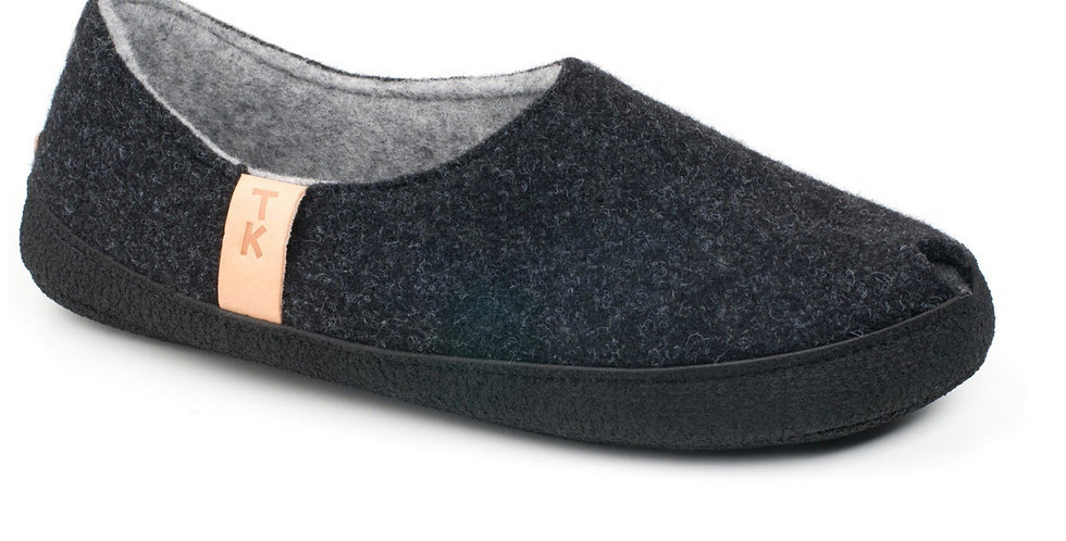 BUDAPEST CHARCOAL Slippers