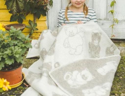 LACIS Woollen Blanket (kids size)
