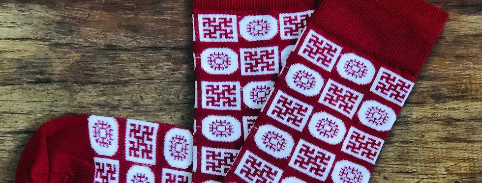 """""""Light"""" Socks - red"""