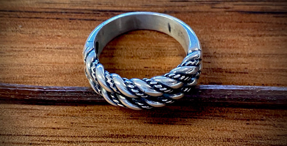 ZEMGALE ring - Double Weave