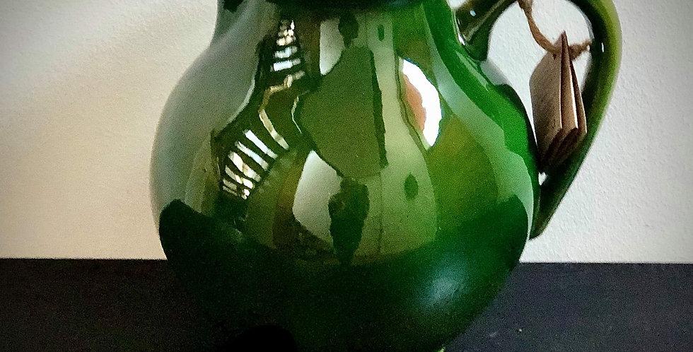 Large Traditional Green Jug