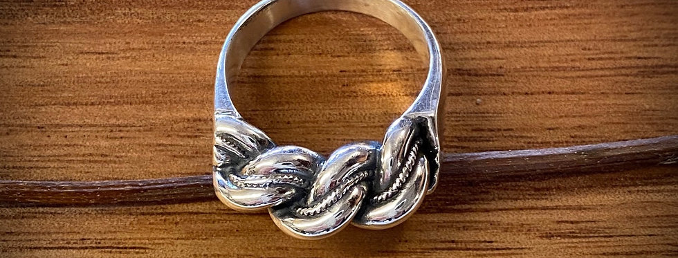 NAMEJS Plaited XL Men's Ring