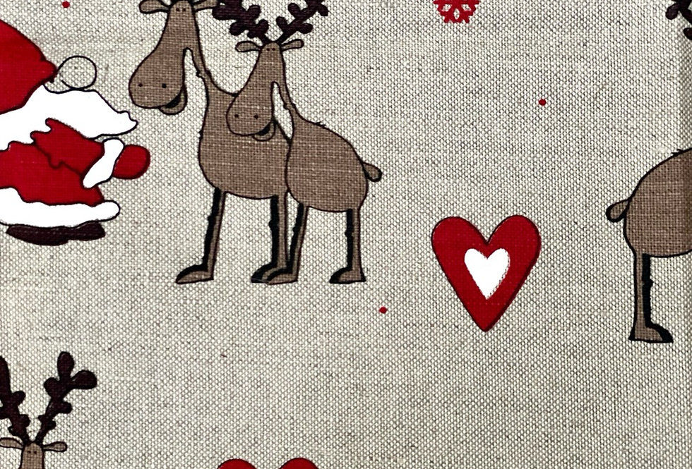 """Christmas is coming"" Tea Towel"