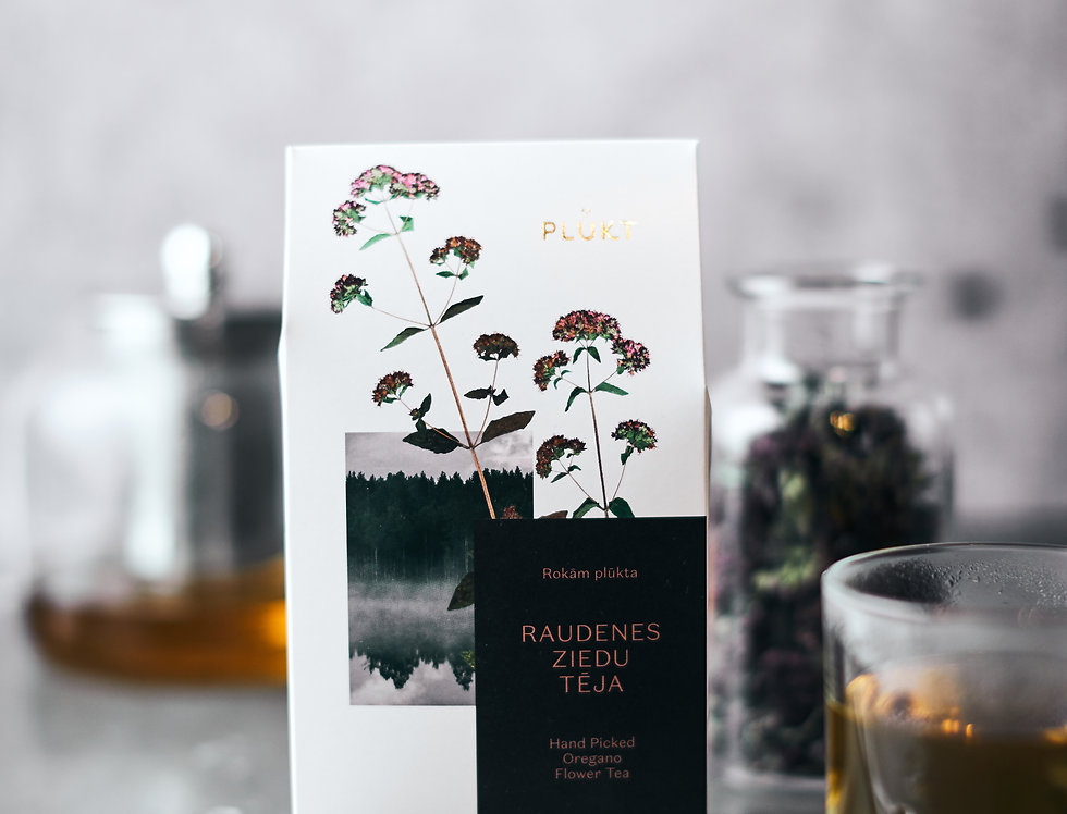 Organic Oregano Flower Tea