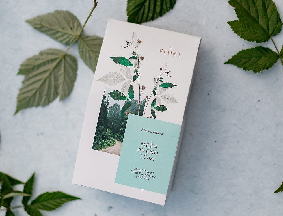 Organic Wild Raspberry Leaf Tea