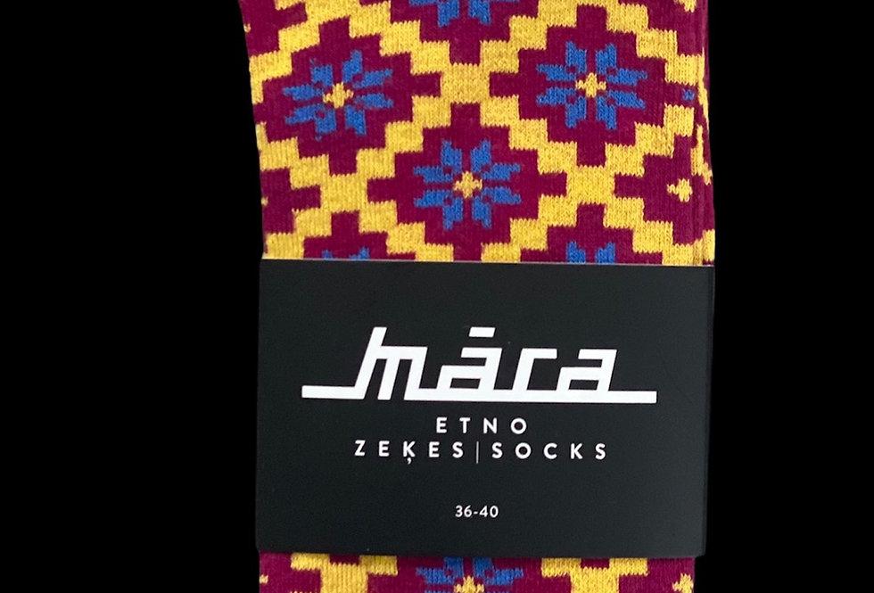Blue Stars socks by Māra