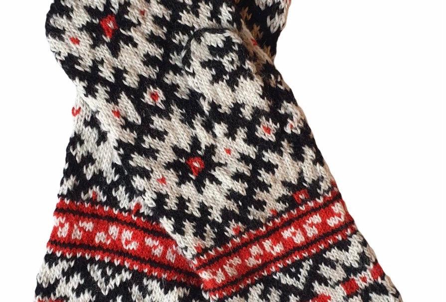 Woollen Mittens Style E