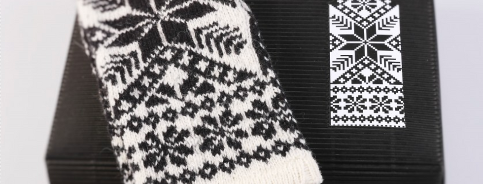 SAULE  - Mitten Knitting Kit