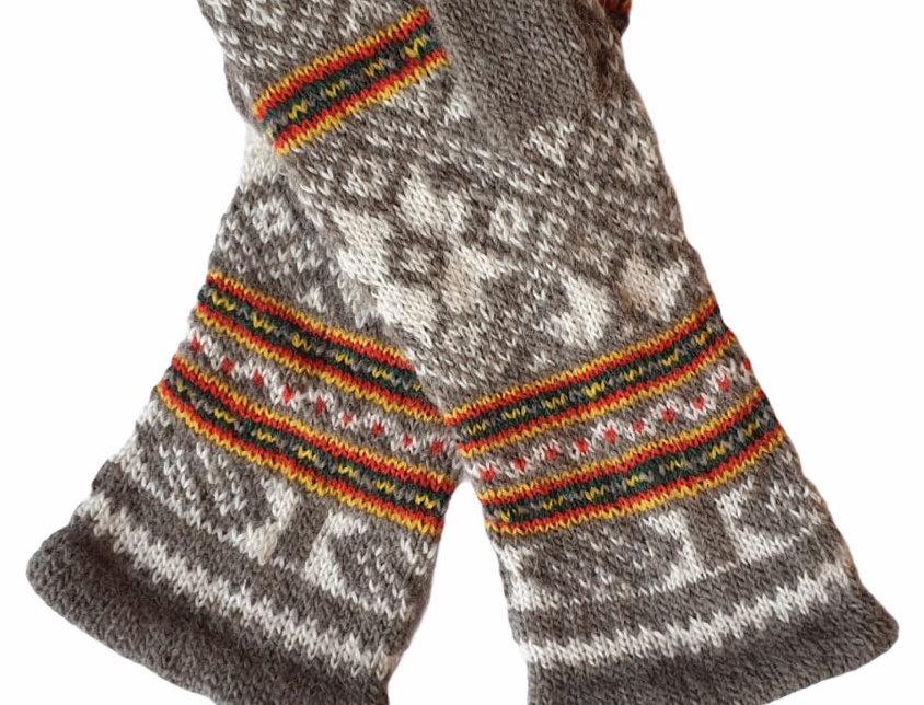 Woollen Mittens Style B