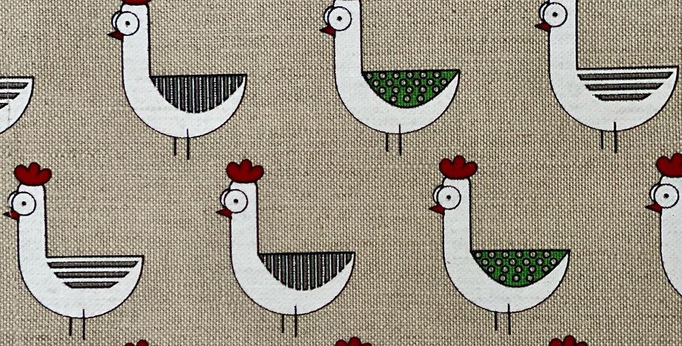 Hen Tea Towel