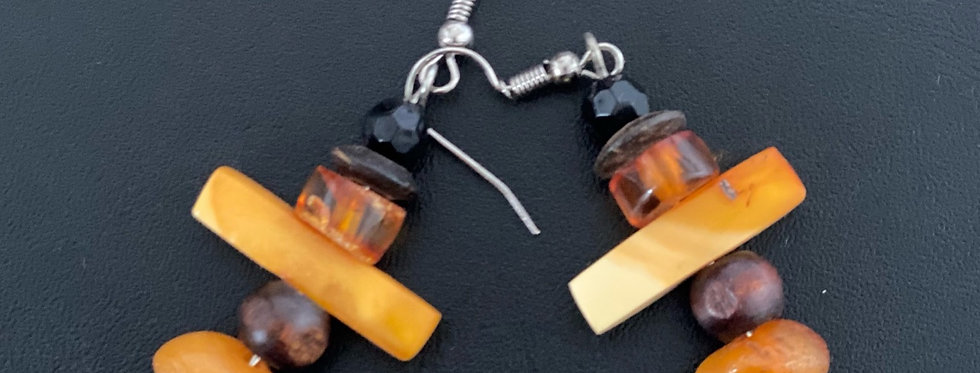 Amber Earrings -Style B