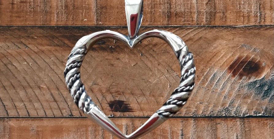 ZEMGALE  Heart Shaped Pendant