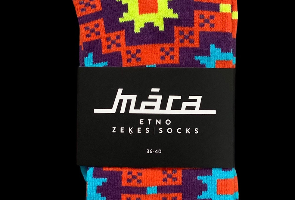 Bright Summer socks by Māra