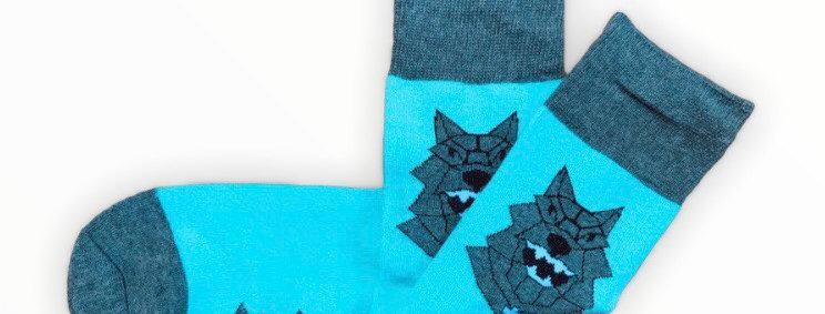 Iron Wolf Socks