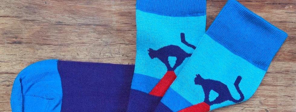Riga Cat Socks