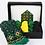 Thumbnail: KURZEME GREEN - Mitten Knitting Kit