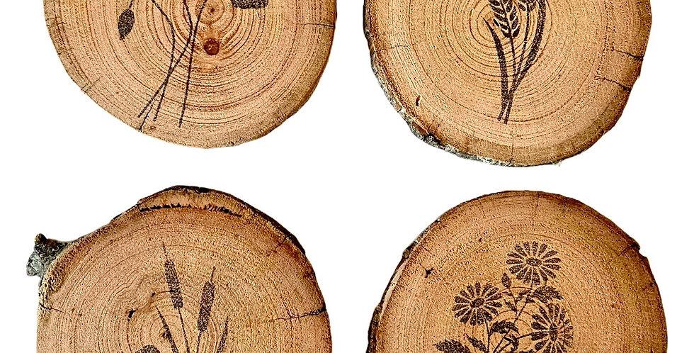 Nordic Botanicals Coaster Set