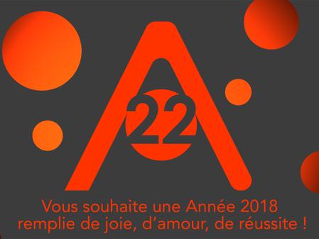 Catherine Valérie & Céline vous souhaitent une bonne année 2018
