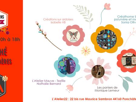 """Marché Fête des Mères avec les """"Artisans du coin """""""