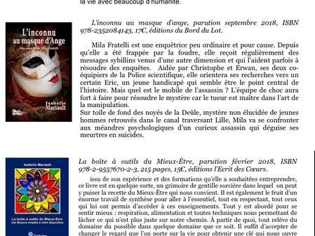 L'auteur Isabelle Mariault à L'Atelier22!