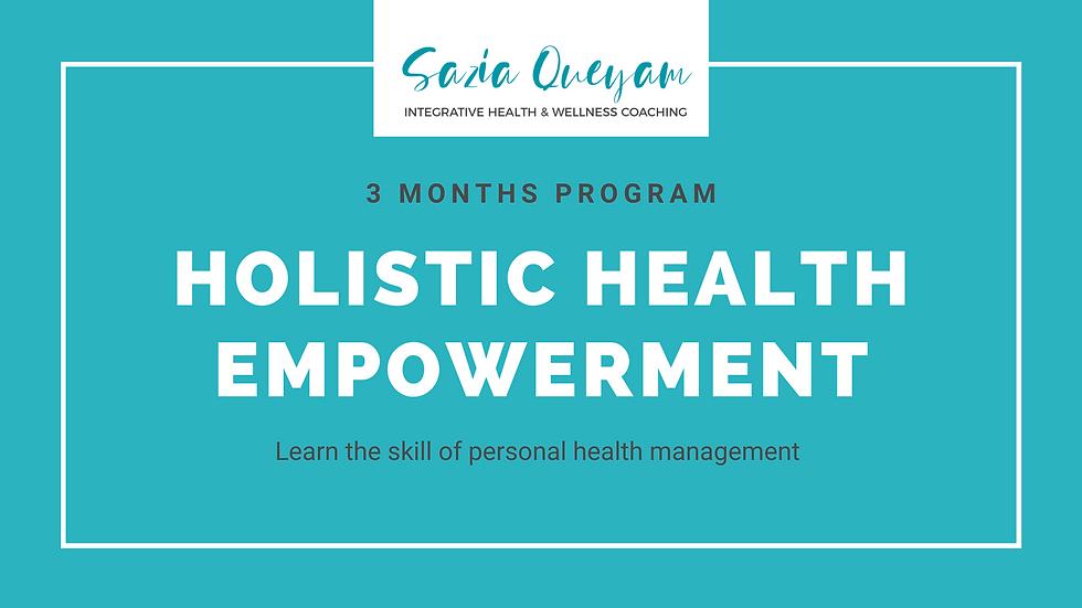3M-Holistic Health Empowerment