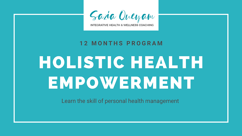 12M-Holistic Health Empowerment Program