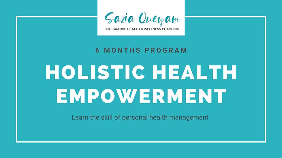 6M-Holistic Health Empowerment Program