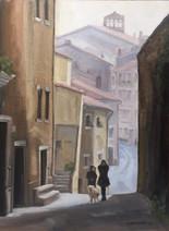 Winter Walk - Tuscany