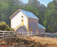 White & Yello Barn - SB Channel Islands