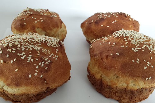 Sesame Buns (two pack)