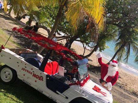 Le Père Noël a pensé aux enfants de Brise Marine le 25 décembre 2018