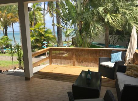 Nouvelle déco intérieure et agrandissement terrasse au bungalow # 2.