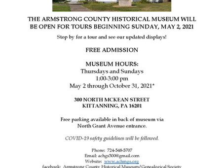 See you at the Museum!