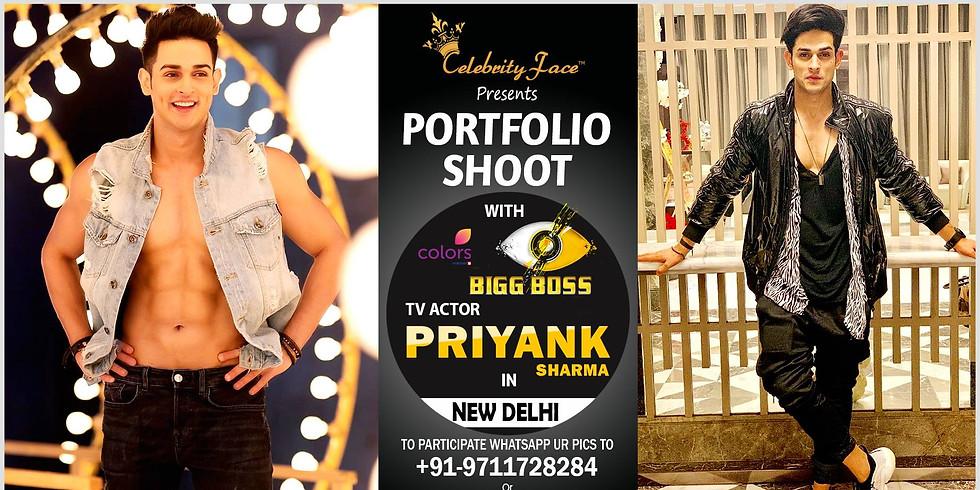 Celebrity Face Couple Fashion PhotoShoot with Bigg Boss 11 Priyank Sharma