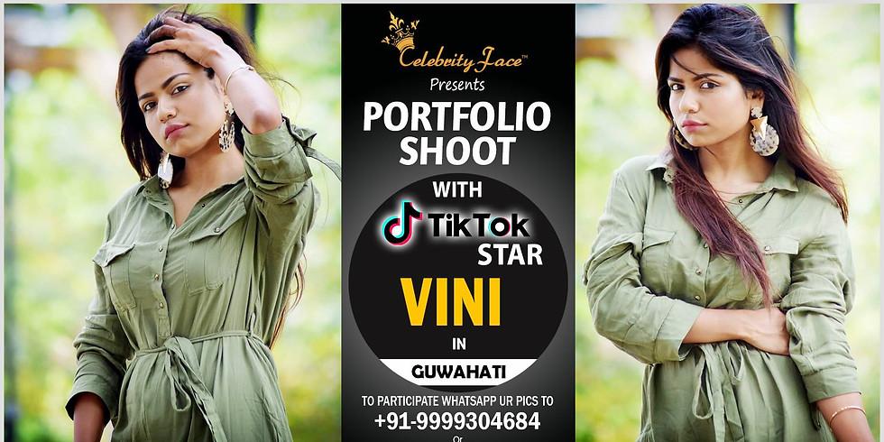 Celebrity Face Couple Fashion PhotoShoot & TikTok Videos with Vini in Guwahati