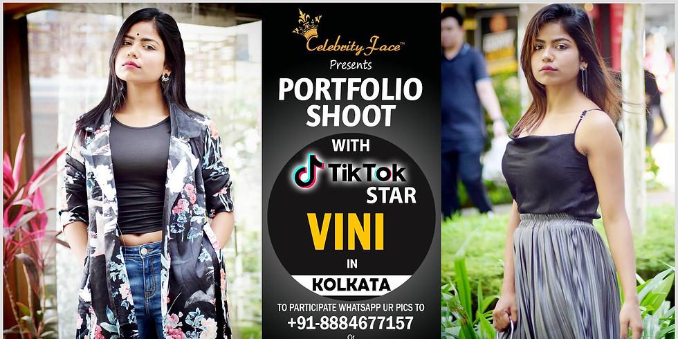 Celebrity Face Couple Fashion PhotoShoot & TikTok Videos with vini